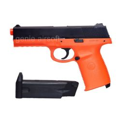 Double Eagle Sigma SW40F Style Orange Airsoft BB gun